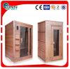 Différents types de salle de sauna à vapeur intérieure sèche et humide à l'extérieur