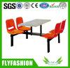 Cantine mobilier Table et chaise de salle à manger ensemble table de restaurant (DT-02)