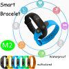 Le bracelet imperméable à l'eau le plus neuf avec le moniteur du rythme cardiaque (M2)