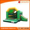 Grüne Farben-aufblasbares Springen kombiniert mit Plättchen (T3-021)