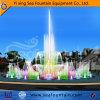 Fontana di acqua corrente levantesi in piedi di Dancing di grande musica