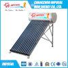 Calentador de agua solar de la presión inferior del tubo de vacío para la India