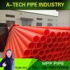 Fabricante de alta calidad de suministro de tubo de la producción de Cable MPP