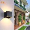 Luz al aire libre cuadrada creativa de la pared directo LED de China de la exportación