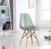 [بيش ووود] ساق شفّافة [إمس] كرسي تثبيت بلاستيكيّة لأنّ يتعشّى