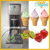 Utilisé commerciale des fruits de la crème glacée de la machine avec le mélange de lame en acier inoxydable