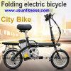 Bike 250W 14inch Usun портативный складывая электрический велосипед с извлекает батарею