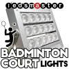 Indoor & Outdoor de bádminton, luces LED 150W de iluminación de la Corte de bádminton, antirreflectante