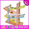 Nieuw Ontwerp 4 Stuk speelgoed W04e053 van het Spoor van het Ras van de Jonge geitjes van Niveaus het Grappige Houten