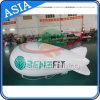 双方デジタルPrinting&#160が付いているツェッペリン型飛行船の気球の広告;