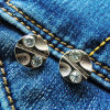 의복 (RV00286)를 위한 Diamante 청바지 금속 리베트