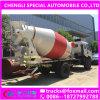 dimensions de 3000L 4X2 LHD de camion concret de mélangeur de transport