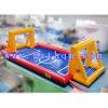 Terrain de football de savon de Commerical/inducteur gonflables extérieurs cricket du football pour des jeux de sports
