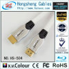 Тональнозвуковая/видео- кабельная проводка с 24k Conecctors покрынным золотом