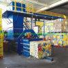 Machine de mise en balles de déchets de papier/hydraulique Machine d'emballage carton comprimer la ramasseuse-presse