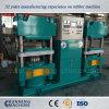 Alto caucho técnico que vulcaniza la prensa hidráulica con dos estaciones