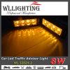 Luzes de Strobe de Emergência do Veículo Amber 8 LED