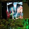Afficheur LED visuel polychrome d'intérieur de la location P5 de HD grand