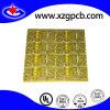 2黄色いSoldermaskの層Fr4 1.6mm PCBのボード