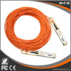 QSFP+の実行中の光ケーブル互換性のある10mへのネットワーク製品優れたQSFP+