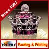 Garrafa de perfume com perfume de vidro com diamante de cristal com diamante de diamante 3D Bling Crystal