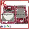 Bolso plano plástico del sellado caliente para el empaquetado del regalo