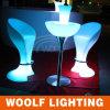 Tamboretes de barra iluminados da mobília do diodo emissor de luz