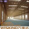 Estructura de acero prefabricada modificada para requisitos particulares que construye el edificio de acero del almacén del bajo costo