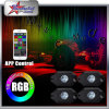 RGB LED Rock Light Kits pour Off Road Truck Car ATV SUV sous le corps Glow Light Lamp Trail Fender Lighting (blanc, ambre, rouge, etc.)
