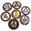 Comercio al por mayor Masonic Regalia albañil libre elementos distintivos de aleación