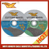 Qualité disque de découpage d'Inox de 7 pouces/roue de découpage