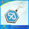 Corrente chave personalizada de borracha de PVC Soft Custom PVC 2D para presente de lembrança (XF-KC-P01)