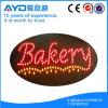 Oval Hidly panadería señal LED de interior