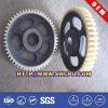 Hersteller kundenspezifische Plastikgang-Riemenscheiben-Rolle (SWCPU-P-G015)