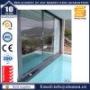Chambres insonorisées avec double vitrage porte coulissante en aluminium