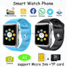 Bunter Sport Bluetooth intelligentes Uhr-Telefon mit SIM Karte-Schlitz A1
