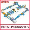 Lilytoys! Inflatable popolare Water Floating Water Slides per Water Park Games (Lilytoys-WP34)