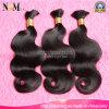 Vente en gros de produits en vrac à la mode des cheveux humains Virgin Brazilian Hair Bulk