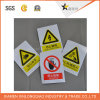 Het Document van de Druk van het Etiket van de Aandacht van Waarschuwingsseinen drukte Zelfklevende Sticker af