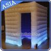 Weißes LED-helle Luft-festes Zelt, aufblasbare Kubikzelt-Ereignisse