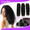 Kinky Curly 100% virgem mongol humano Remy Extensão de cabelo