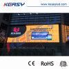 풀 컬러 P15.625 커튼 발광 다이오드 표시를 광고하는 높은 투명도
