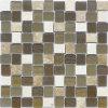 Mosaico mescolantesi all'ingrosso di cristallo per la stanza da bagno
