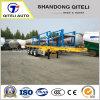 3 base piana del contenitore degli assi 40FT/di /Cargo della parete laterale di /Utility del carico del camion rimorchio di scheletro semi