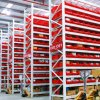 Estantería larga de acero del palmo del almacén para la solución del almacenaje