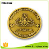 Monedas de cobre antiguas del metal de encargo de la fábrica