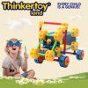 Puzzle jouet en plastique pour le cerveau Train