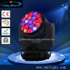 Gaffer la lumière principale mobile de l'abeille 19PCS 15W RGBW 4in1 Osram DEL
