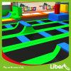 Крытое цветастое изготовление парка Trampoline спорта высокого прыжка