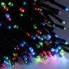 Lumière de lumière de Noël de l'énergie solaire pour la décoration de vacances